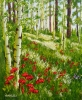 Aspen and Poppies